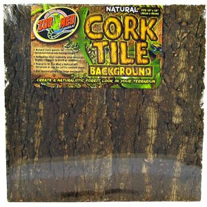 Zoo Med Natural Cork Tile Terrarium Background