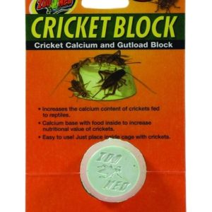 Zoo Med Regular Cricket Blocks Gut load Block