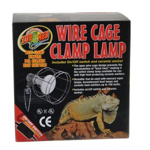 Zoo Med Wire Cage Clamp Lamp