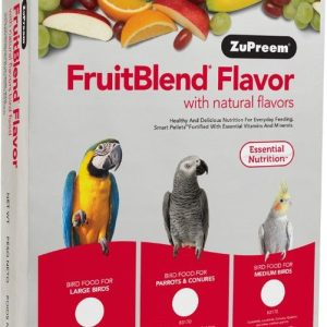 ZuPreem FruitBlend Flavor Bird Food for Medium Birds