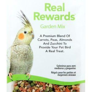 ZuPreem Real Rewards Garden Mix Treats for Medium Birds