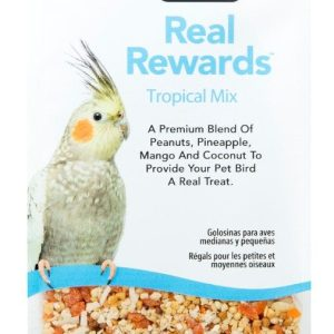 ZuPreem Real Rewards Tropical Mix Treats for Medium Birds