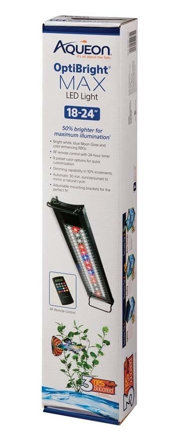 Aqueon OptiBright Max LED Aquarium Light
