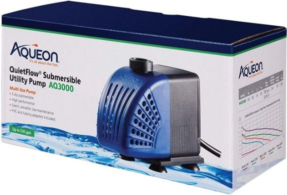 Aqueon QuietFlow Submersible Utility Pump