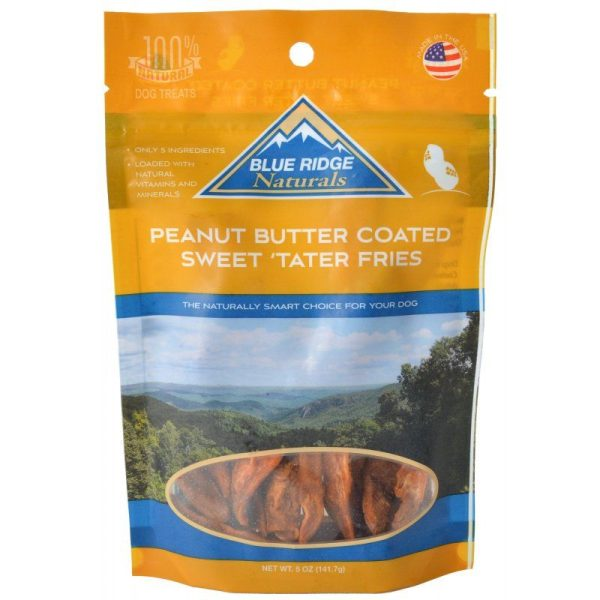 Blue Ridge Naturals Peanut Butter Coated Sweet Tater Fries