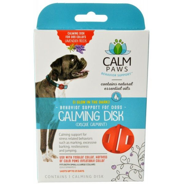 Calm Paws Calming Disk for Dog Collars
