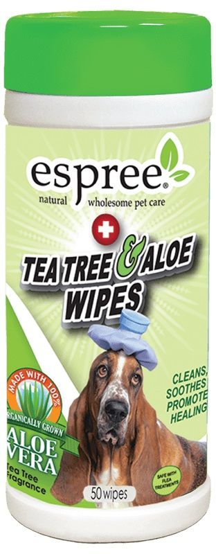 Espree Tea Tree & Aloe Wipes