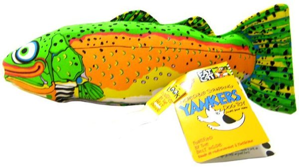 Fat Cat Classic Yankers Dog Toy - Assorted