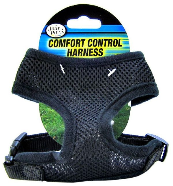 Four Paws Comfort Control Harness - Black