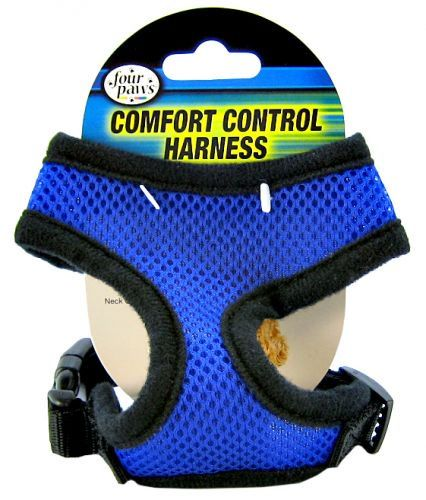 Four Paws Comfort Control Harness - Blue