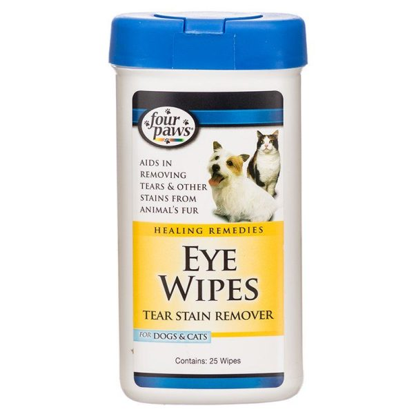 Four Paws Eye Wipes for Dogs & Cats