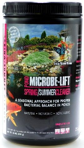 Microbe-Lift Spring & Summer Cleaner for Ponds
