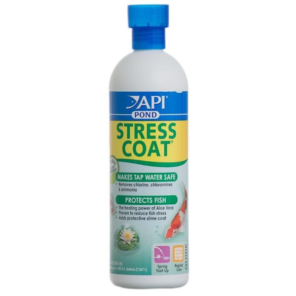 PondCare Stress Coat Plus Fish & Tap Water Conditioner for Ponds