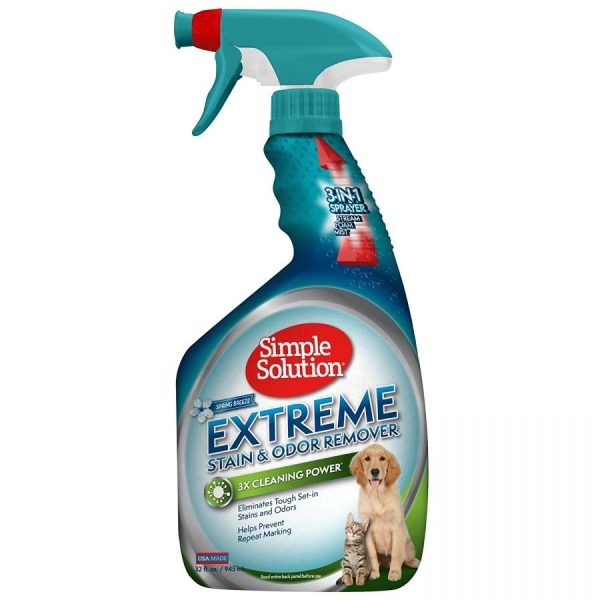 Simple Solution Extreme Stain & Odor Remover - Spring Breeze