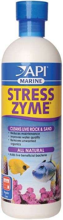 API Marine Stress Zyme Bacterial Cleaner