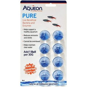 Aqueon Pure LIve Beneficial Bacteria and Enzymes for Aquariums