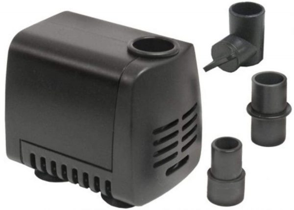 Beckett Crystal Pond Dual Purpose Pond and Fountain Water Pump