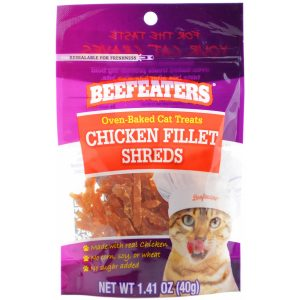 Beefeaters Oven Baked Chicken Filet Shreds Cat Treats