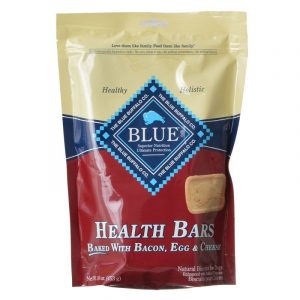 Blue Buffalo Health Bars Dog Biscuits - Baked with Bacon