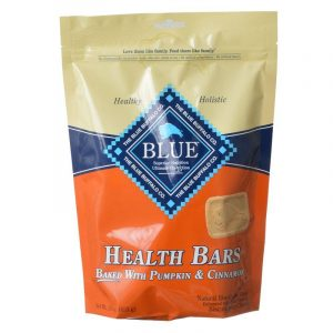 Blue Buffalo Health Bars Dog Biscuits - Baked with Pumpkin & Cinnamon