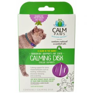 Calm Paws Calming Disk for Cat Collars