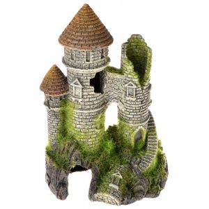 Exotic Environments Mountain Top Citadel with Moss