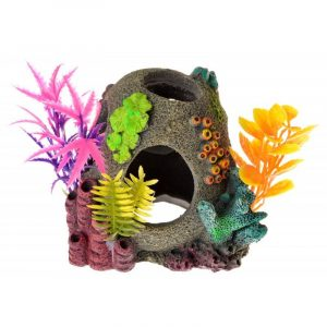 Exotic Environments Sunken Orb Floral Ornament