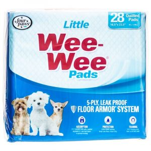 Four Paws Wee Wee Pads for Little Dogs