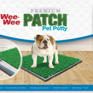 "Four Paws Wee Wee Patch Indoor Potty 24.5""L x 25.7""W"