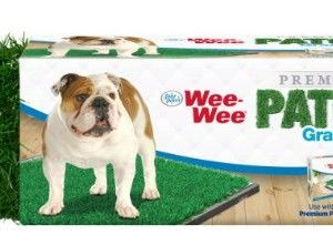 "Four Paws Wee Wee Patch Replacement Grass 22""L x 23""W"