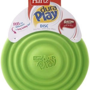 Hartz Dura Play Disc Bacon Scented Dog Toy