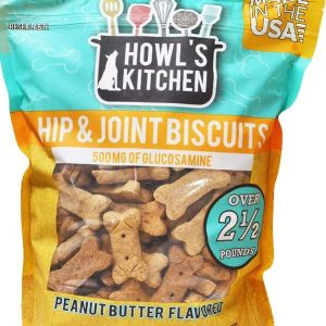 Howls Kitchen Hip & Joint Biscuits - Peanut Butter