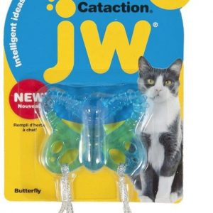 JW Pet Cataction Catnip Infused Butterfly Interactive Cat Toy