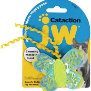 JW Pet Cataction Crunchy Butterfly Cat Toy