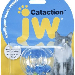 JW Pet Cataction Fish Ball Interactive Cat Toy
