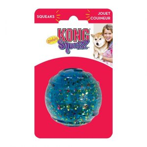 KONG Squeezz Confetti Ball Dog Toy