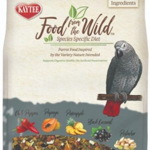Kaytee Food From The Wild Parrot Food For Digestive Health
