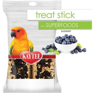 Kaytee Superfoods Avian Treat Stick - Blueberry