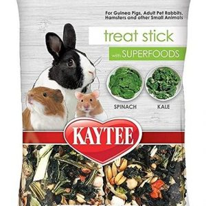 Kaytee Superfoods Small Animal Treat Stick - Spinach & Kale