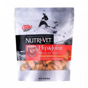 Nutri-Vet Hip & Joint Biscuits for Dogs - Regular Strength