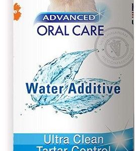 Nylabone Advanced Oral Care Water Additive Ultra Clean Tartar Control for Dogs