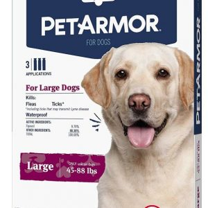 PetArmor Flea and Tick Treatment for Large Dogs (45-88 Pounds)