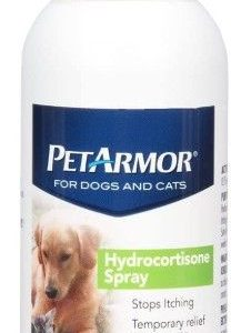 PetArmor Hydrocortisone Spray Quick Relief for Dogs and Cats