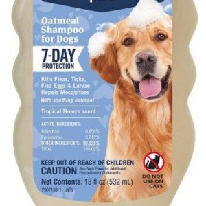 PetArmor Plus Oatmeal Shampoo for Dogs 7-Day Protection