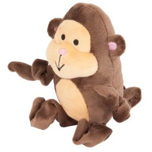 Petmate Zoobilee Stretchies Monkey Dog Toy
