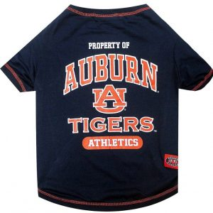 Pets First Auburn Tee Shirt for Dogs and Cats