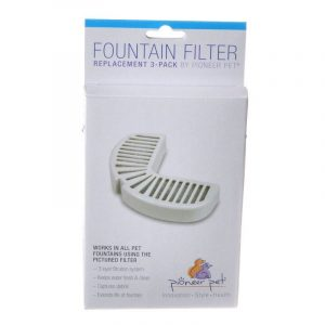 Pioneer Replacement Filters for Stainless Steel and Ceramic Fountains