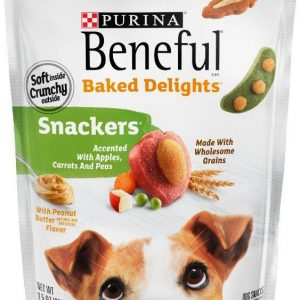 Purina Beneful Baked Delights Snackers with Apples