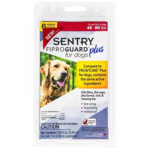 Sentry Fiproguard Plus IGR for Dogs & Puppies