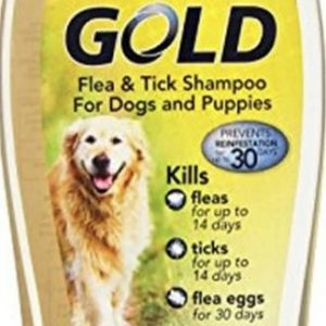 Sergeants Gold Flea and Tick Shampoo for Dogs and Puppies